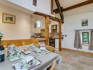 Superior barn conversion offers immaculate accommodation and charming character