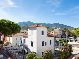 Ferienwohnung mit Balkon und Meerblick – Apartment Adriana
