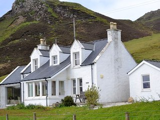 Luxury croft house with stunning views in a peaceful setting