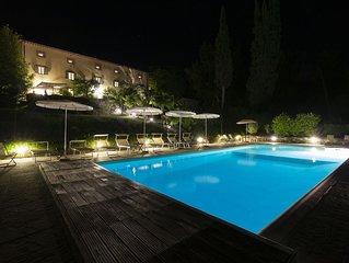 Villa in Toscana con piscina riscaldata