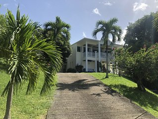 Villa de charme au Diamant - vue mer 180° - 200 m plage et commerces