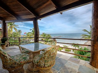 Huge Beachfront Villa, Stunning Views, Plunge Pool. Free Golf Cart*