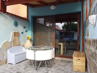 Ferienwohnung Zia Mariolina mit WLAN, Klimaanlage, Garten und Terrasse; Parkplät