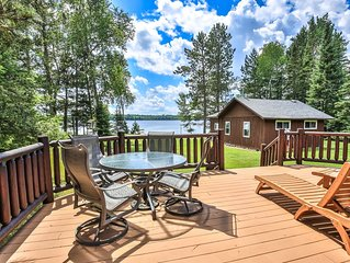 Cozy Log Cabins on Found Lake - Great for Families!
