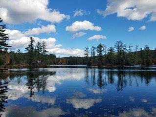 Beautiful Ranch on Lake Vanare in the Adirondacks