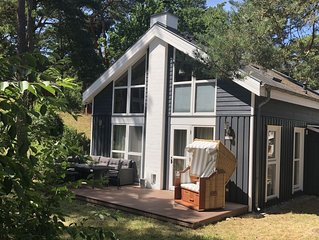 Rental beach Pine 233, direct to the beach with whirlpool, sauna and fireplace