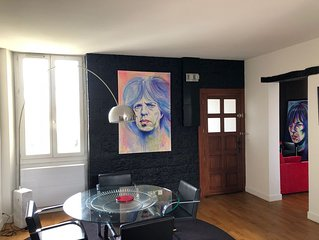 Petit LOFT à Biarritz de 60m2 grand confort, proche centre ville et plage