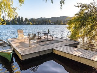 Shelby LakeFront House. .  Langford Lake Near The Ocean - Victoria's West Shore