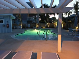 Luxury Townhome. 2nd row from beach. Amazing ocean views. Direct beach access.