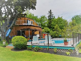 Vacation on South Shore. Water-View Home: POOL, PRIME LOCATION, near BEACH, GOLF