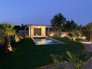Villa contemporaire  avec piscine  et annexe a Aix-en-Provence