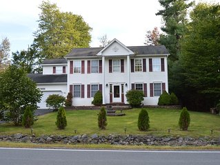 Luxurious Villa in Pocono Mountains near Camelback w Hot Tub & Games Room