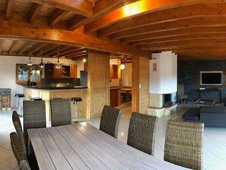 Berghütte mit spektakulärer Aussicht – Chalet Blanc Ruxel