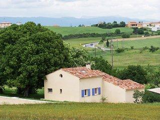 Maison de campagne décoration provençale, 8 personnes, tout confort