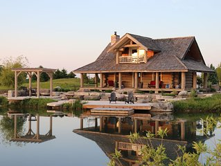 Beautiful Log Cabin/chalet perfect for a romantic getaway