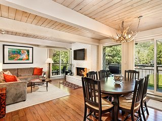 Bright Corner Unit with Views of Aspen Mountain - Downtown Ajax Chalet