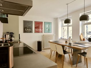 Modern and bright apartment in city center of CPH