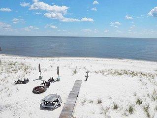 Gorgeous Ocean Views in modern Beachfront Home