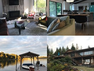 Beautiful home directly on the waterfront with dock - ideal for families