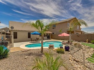 Heated Private Pool! Beautiful San Tan Location with Arizona Room!