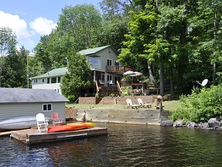 Charming Year-round Cottage with Great Waterfront & View