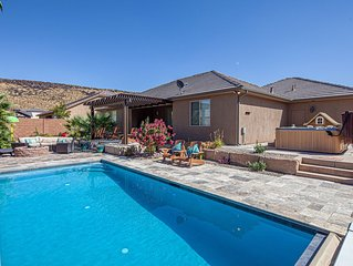 3334 Sand Hollow: Family Vacation Home - Splash Pad, Hot tub and Private Pool