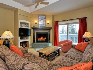 Newly Renovated 2 Bedroom Solitude Village Condo, Ski In/Out