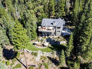 Tahoe's Tranquility - Lakeview: 5 BR / 4 BA five bedrooms in Brockway Vista, Sle