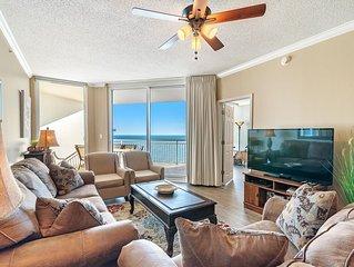 Newly Updated Palacio Unit, on Gulf with Breathtaking Views!