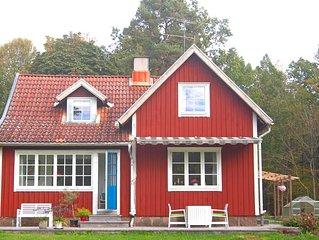 Stuga 100 m från sjön Kösen, Båt, Fiske, Lekstuga, Sandlåda, Cyklar, Wi-Fi