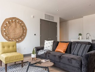 Simple + Central 2BR High-Rise Apt w/ City Views