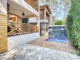 Small, beautiful villa in a lovely mountain setting w/ terraces
