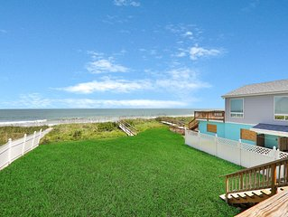 Oceanfront condo with private beach access in a perfect location!