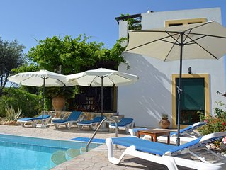 Beautiful Tranquil 3 bed 2 bath Villa with large Private pool 5 min from Lindos