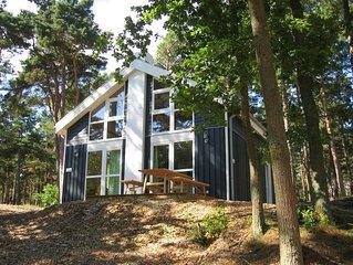 Designorientiertes Architektenhaus mit Meerblick, Sauna, Whirlpool und Kamin