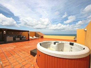 BEACHFRONT - EAGLE BEACH - OCEANIA RESORT - Amber Penthouse 2BR condo - P512