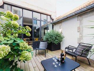 Appartement Cosy avec Terrasse et Parking Biarritz Centre