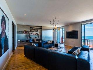 Luxueux Apartment Front de Mer avec Balcon et Parking à Biarritz