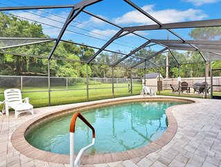 Spacious home w/ private pool, outdoor patio, & nearby golf! Dogs OK!