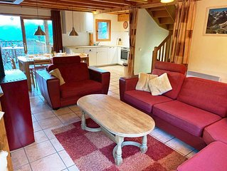 Family friendly chalet (10+2p) close to the main lift in Sainte Foy Station