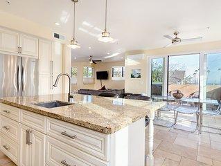 Luxurious Ocean View Villa GREAT LOCATION Walk to Beach, Wharf & Boardwalk