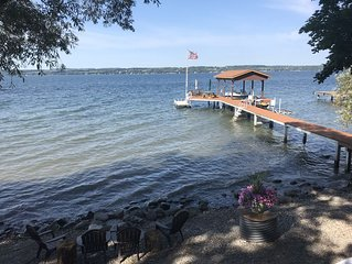 Lakefront Serenity with Sunset Views on Seneca Wine Trail