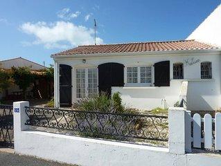 Charmante maison vendéenne avec jardin (mer à 200m)