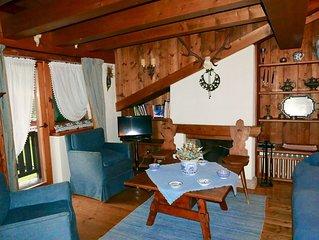 Elegante appartamento a Cortina, con vista. Free  Wi-Fi