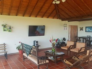 Comfortable room in a quiet coffee farm with swimming pool