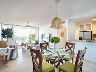 Pal Mar | Beachfront 2 bed 2 bath apartment with a tropical feel