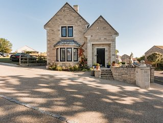 A beautifully furnished home, in Swanage with parking well equipped for children