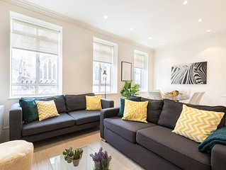 CENTRAL LONDON - COVENT GARDEN - 3BR PENTHOUSE APARTMENT WITH CITY  VIEWS!