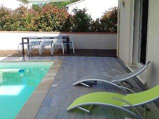 Villa Sorede avec piscine