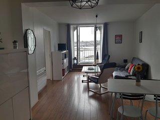 Bel appartement vue mer